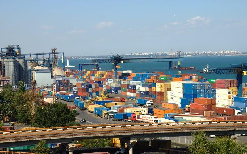 Грузовой порт Одесса