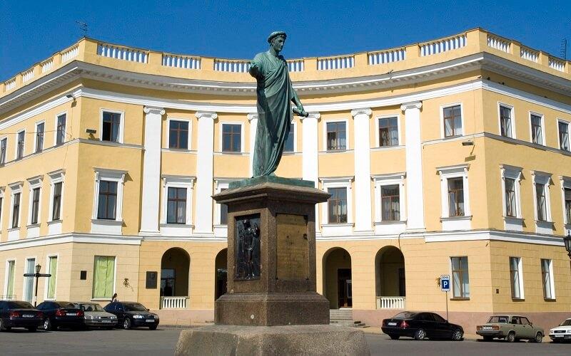 Памятник основателю Одессы