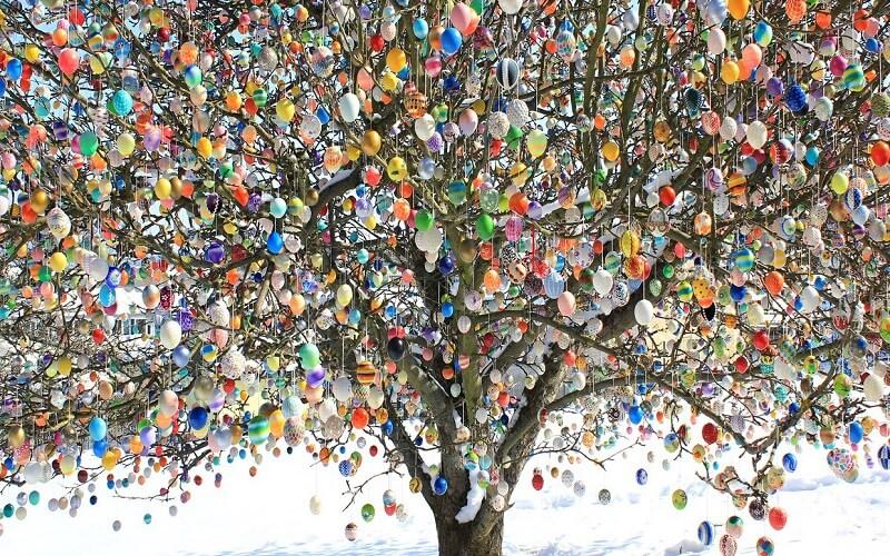 Великоднє дерево Німеччина