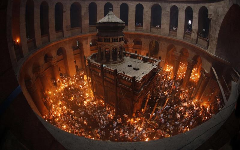 Великдень в Єрусалимі