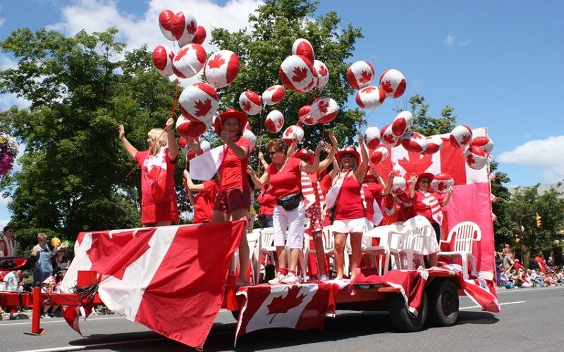 Парад на Великдень в Канаді