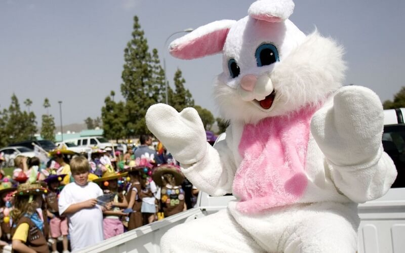 Великдень у США - кролик