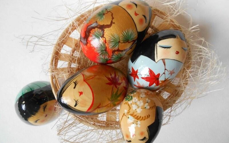 Великдень у Японії яйця
