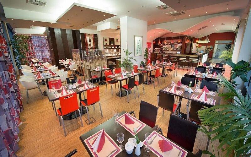Ресторан в отеле Rezidence Emmy 4*, Чехия