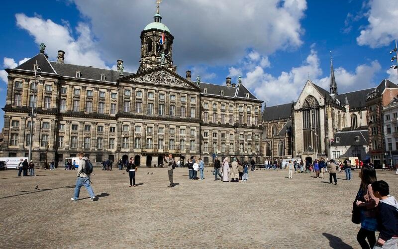 Старая часть Амстердама
