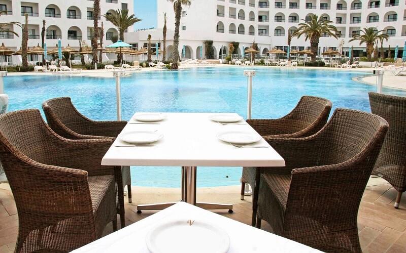 Ресторан в отеле Vincci Nozha Beach & Spa 4*, Хаммамет