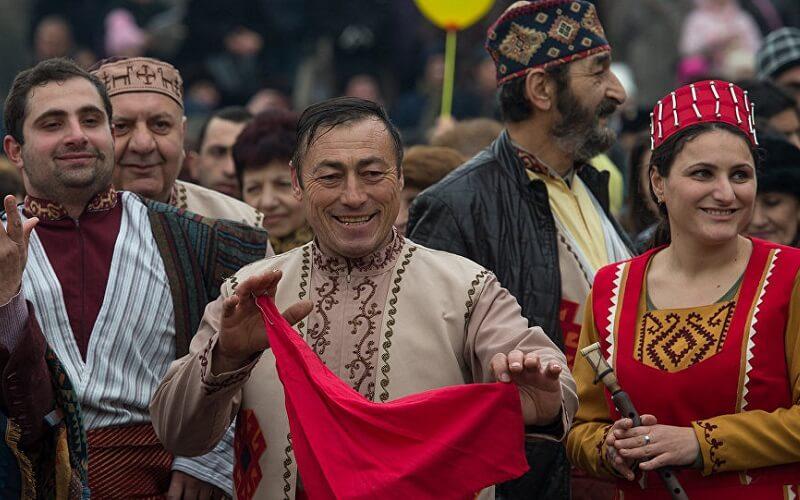 Свято великодня в Вірменії
