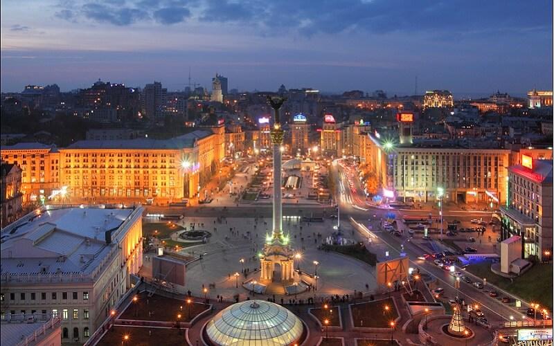 Киев, Евровидение - 2017