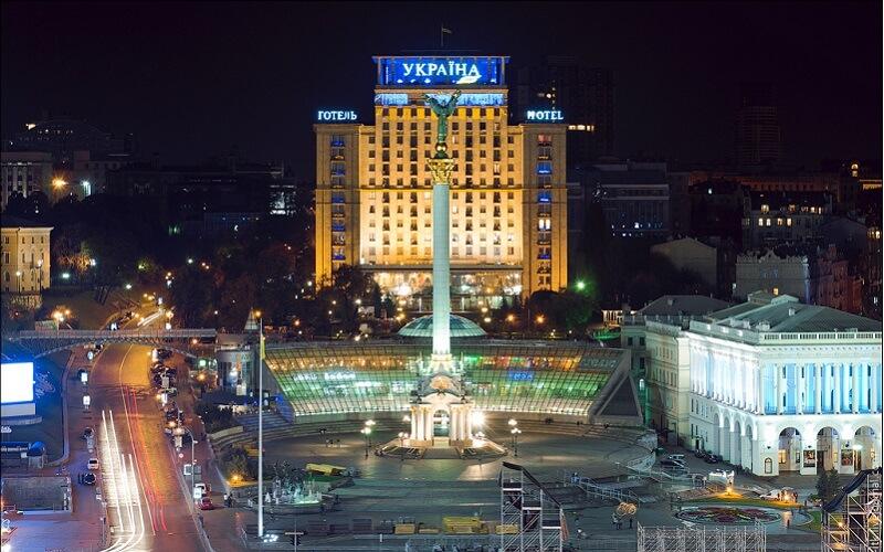 Отель Украина на Крещатике