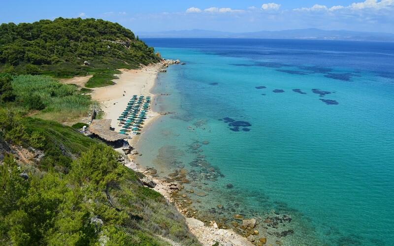 Пляж Халкидики, Греция