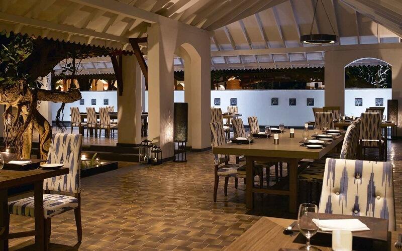 Ресторан в отеле Alila Diwa Goa 5*, Южный Гоа, Индия