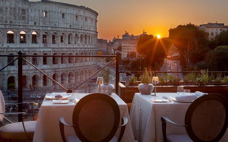 Ресторан Арома, Рим