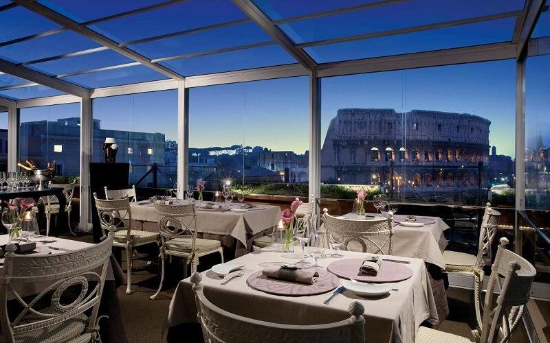 Ресторан Арома возле Колизея