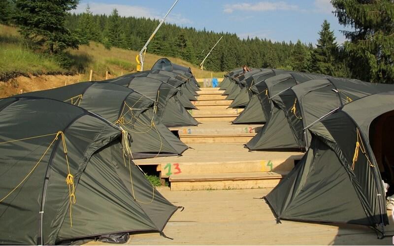 Лагерь Артек-Буковель Озерный
