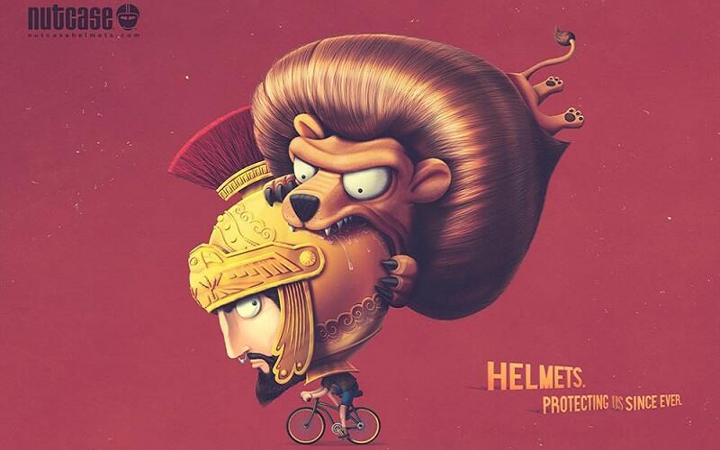 Реклама шлемов