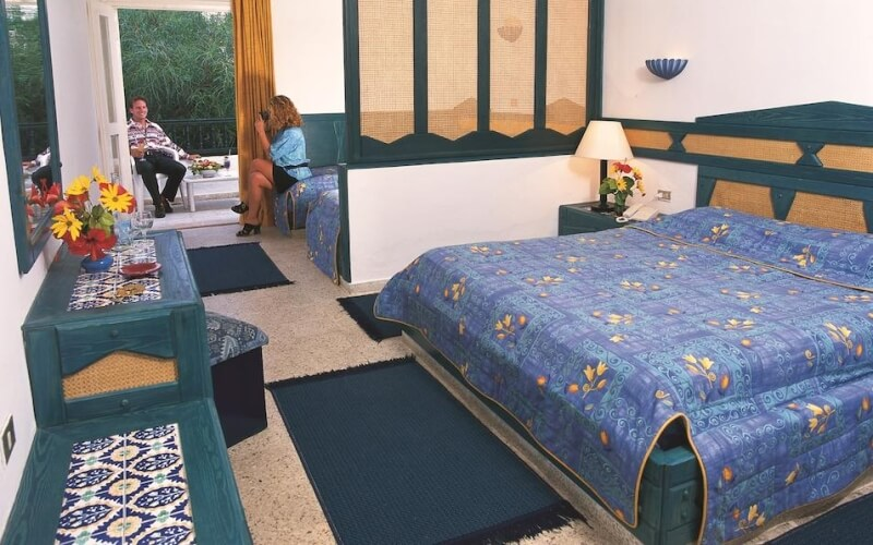 Номер в  El Fell Hotel 3*, Хаммамет, Тунис