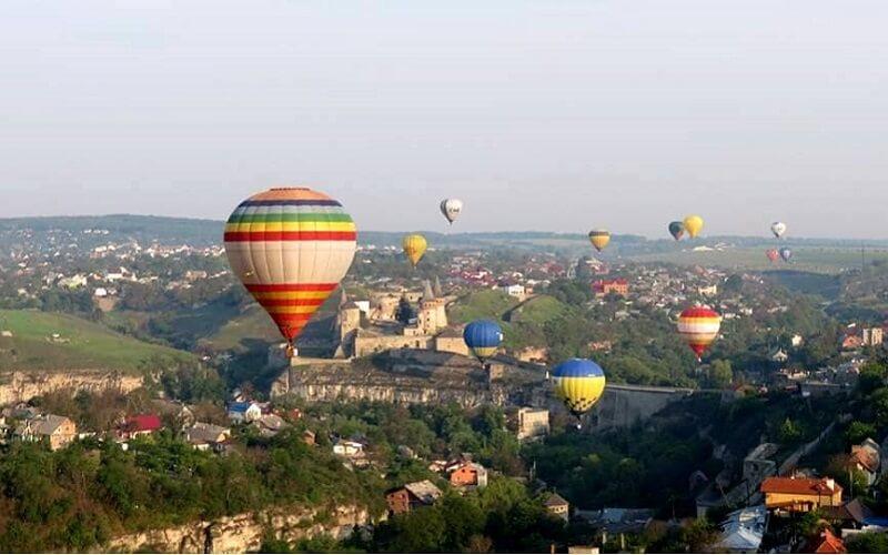 Фестиваль шаров в Каменец-Подольске