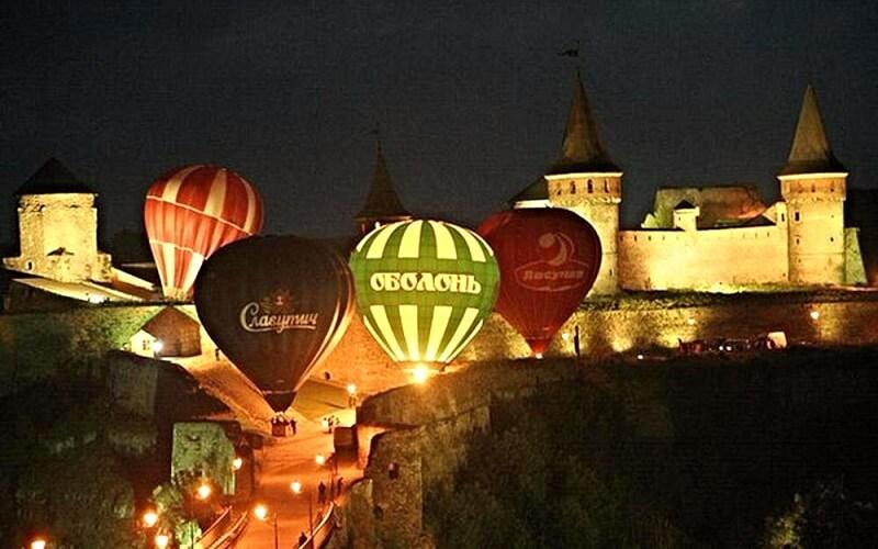 Воздушные шары в Каменец-Подольске