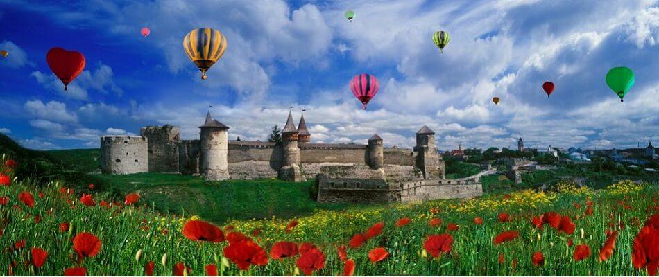 Фестиваль повітряних Куль в Кам'янець-Подільському