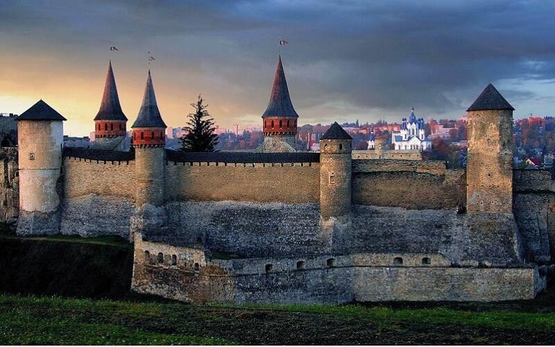 Крепость Каменец-Подольский