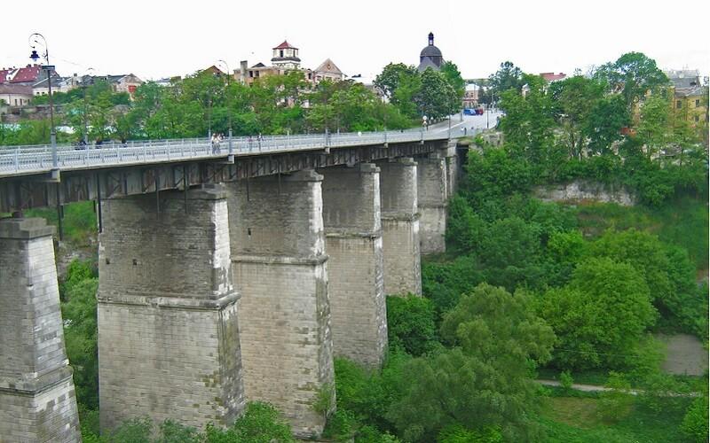 Мост в Каменец-Подольске