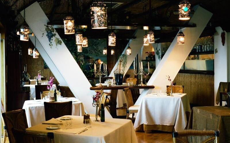 Интерьер ресторана La Cantinella