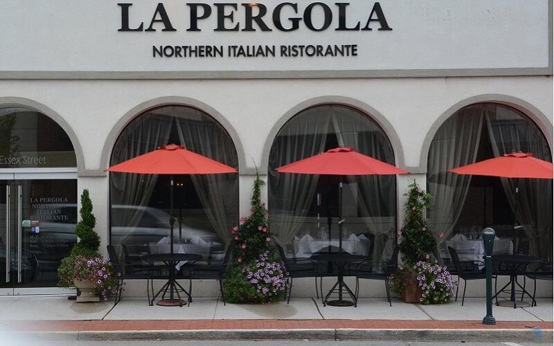 Ресторан La Pergola, Рим