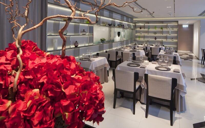 Интерьер ресторана Miramonti l'altro, Брешиа
