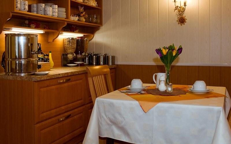 Ресторан в отеле Pension Europa 3*, Прага, Чехия