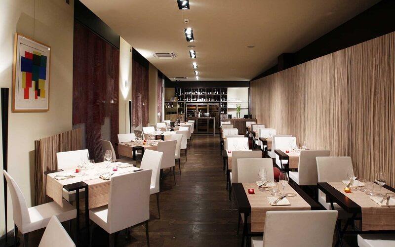 Интерьер ресторана Sadler, Милан