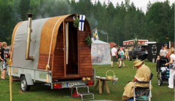 Финский фестиваль сауны: заодно и помоемся!