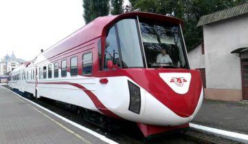 Заработал новый ЖД-маршрут Киев — Солотвино