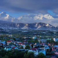Запорожье — Алматы