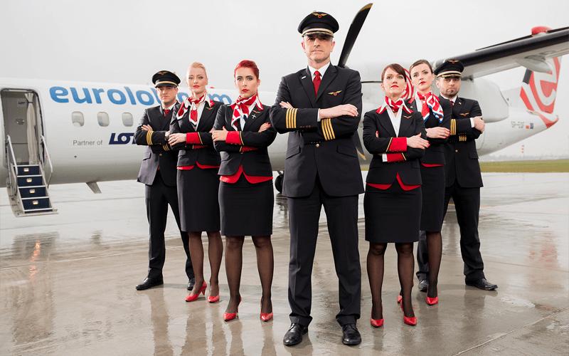 екіпаж авіакомпанії Eurolot