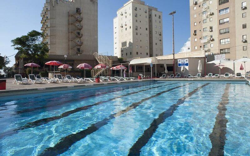 Бассейн в  Galil Hotel 4*, Нетания, Израиль