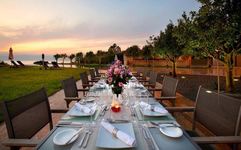 Ресторан в Kempinski Hotel Ishtar Dead Sea 5*, Мертвое море, Иордания