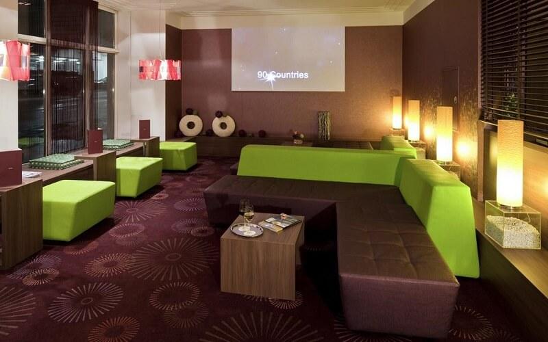 Зона отдыха в отеле Mercure Wien City 4*, Вена, Австрия