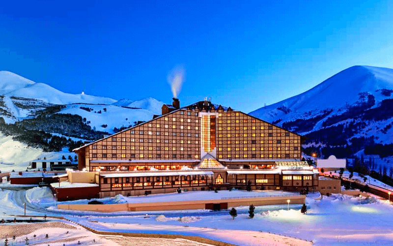 Отель возле лыжной трассы Эрзурум