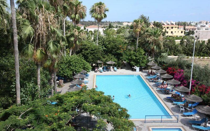 Бассейн, отель Veronica 3*, Пафос, Кипр