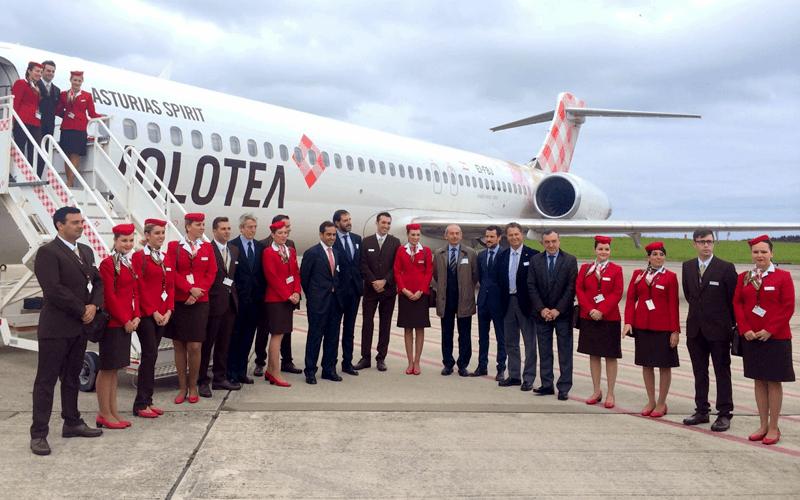 екіпаж авіакомпанії Volotea