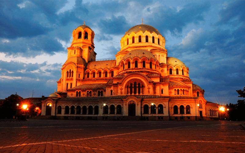 Город София в Болгарии
