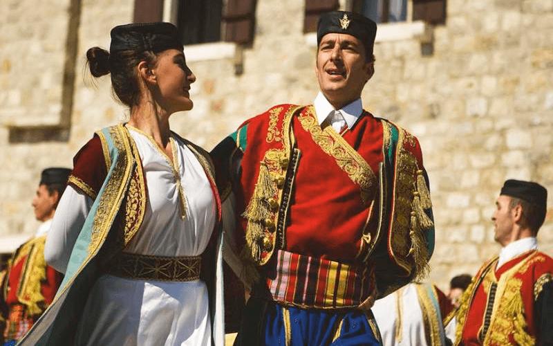 Национальная одежда Черногории