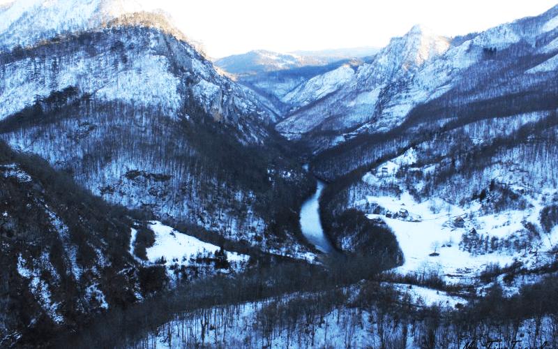 Каньон реки Тары, Жабляк