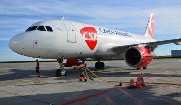 «Чеські авіалінії» додадуть ще один виліт в Одесу!