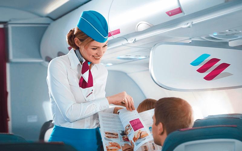 экипаж авиакомпании Eurowings