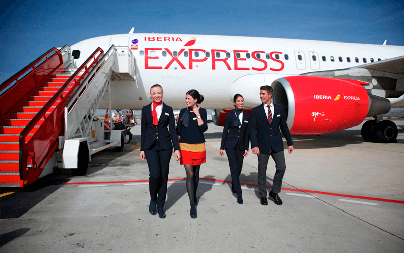 экипаж авиакомпании Iberia