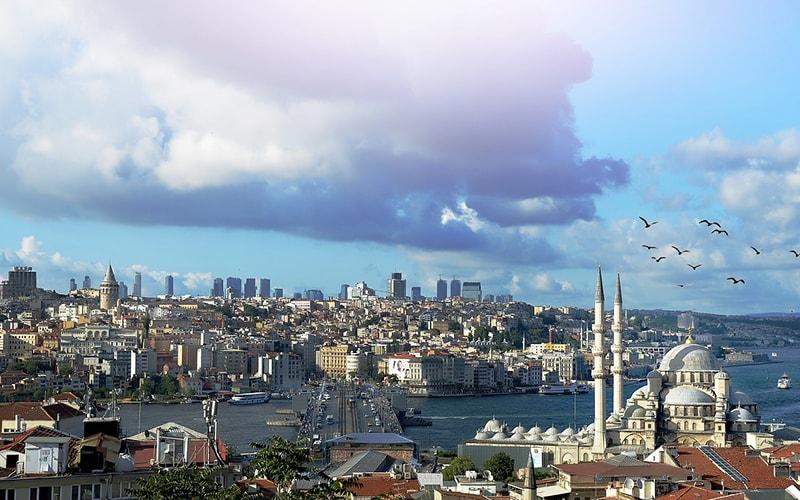 Стамбул, крупнейший город Турции