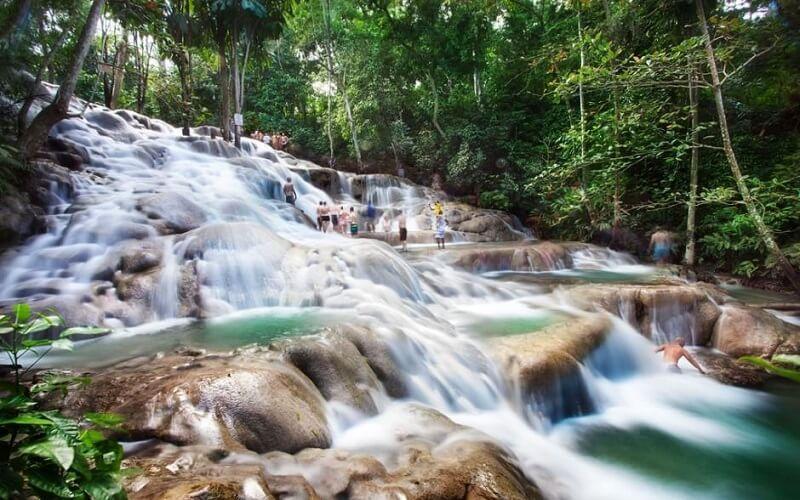 Ямайка водопады