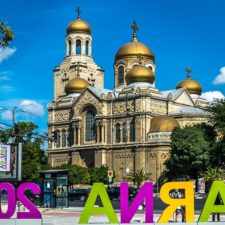 поезд Львов - Варна - Львов