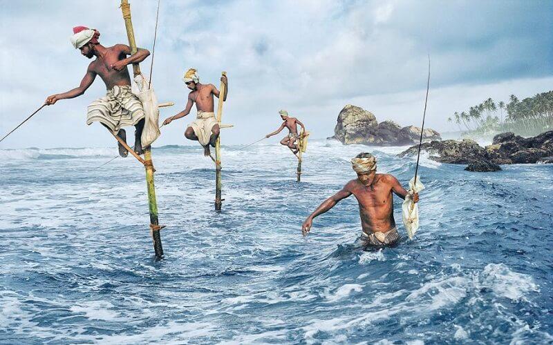 Рибалки Шрі-Ланки